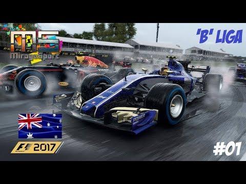 F1 2017 'B' LIGA // 1.FUTAM: AUSZTRÁLIA-MELBOURNE // SAUBER-FERRARI