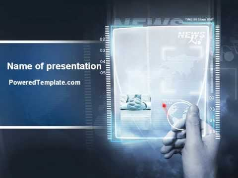 High tech powerpoint template by poweredtemplate youtube high tech powerpoint template by poweredtemplate toneelgroepblik Choice Image