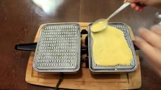 Как приготовить вафли  Рецепт