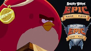 Angry Birds Epic - New Birds Arena Player Vs Player Gameplay Walkthrough