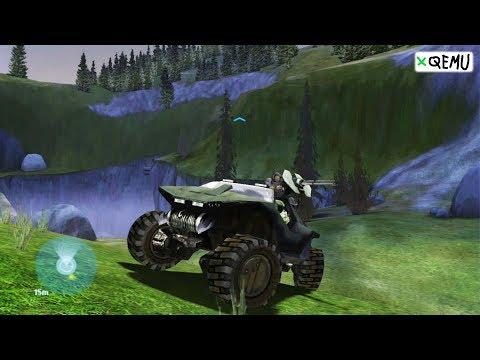 XQEMU Xbox Emulator - Halo: Combat Evolved Ingame / Gameplay! (Perf-wip Branch + HAXM)