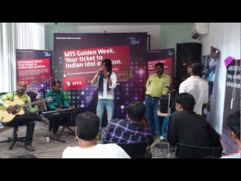 INDIAN IDOL audition at MTS office Lucknow.mp4