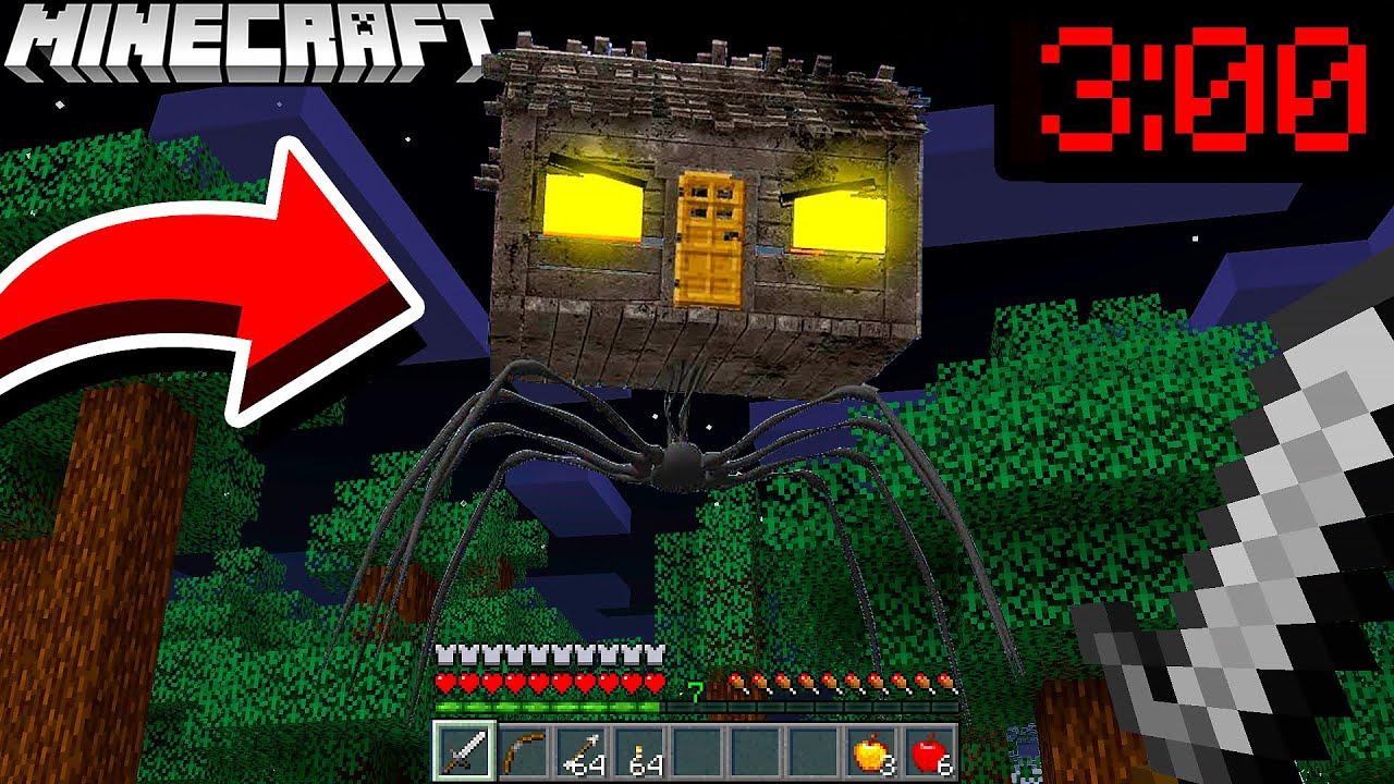 WIR BETRETEN DAS MONSTER HAUS in Minecraft (Horror Haus)