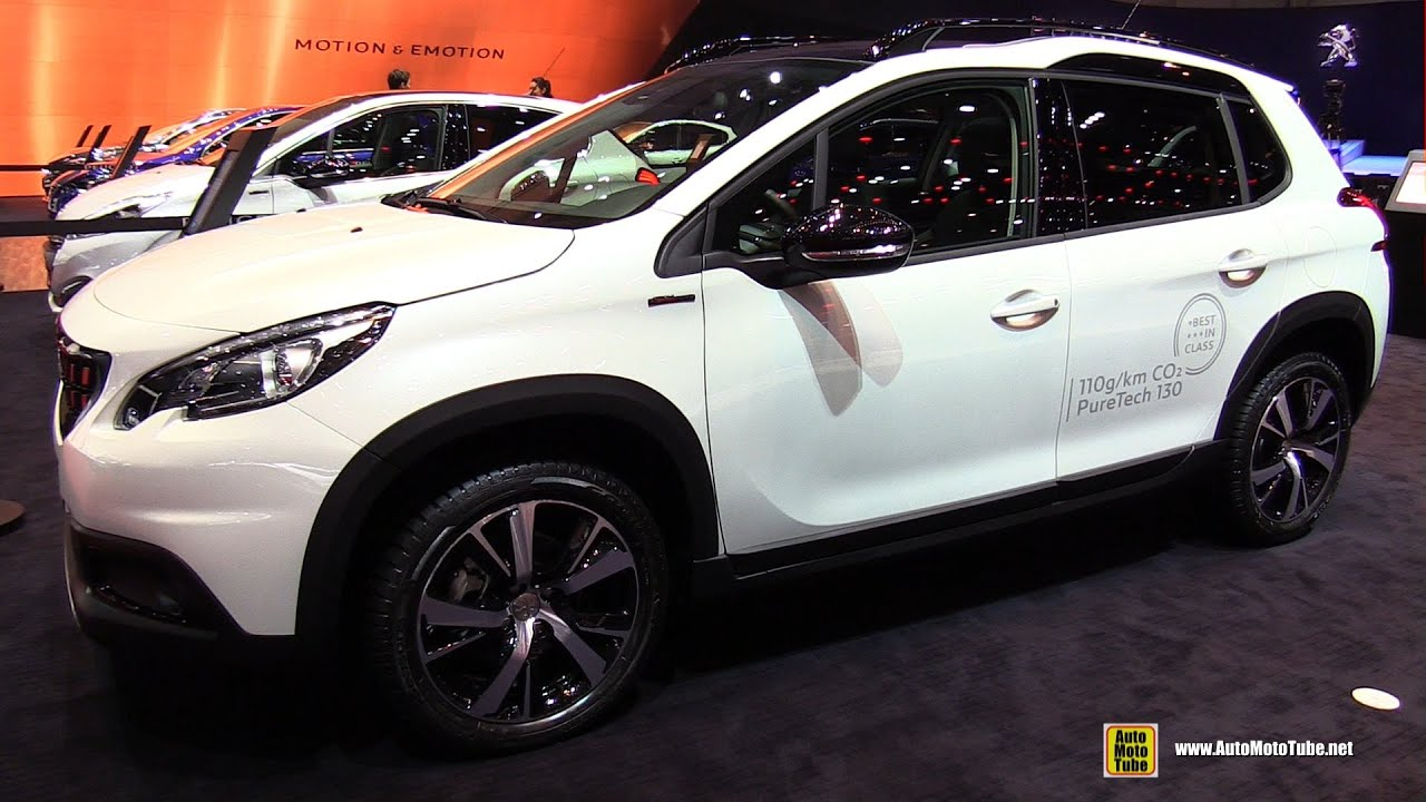 2017 peugeot 2008 gt line exterior and interior walkaround 2016 geneva motor show youtube. Black Bedroom Furniture Sets. Home Design Ideas