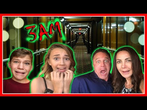 3AM ON THE MOST HAUNTED SHIP IN AMERICA! | EPISODE 1 | We Are The Davises