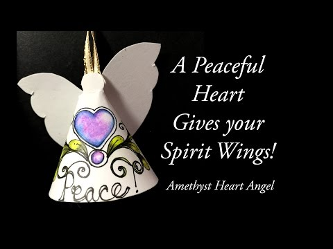 How to Draw Amethyst Doodlegem Angel Ornament Tutorial Ep 35