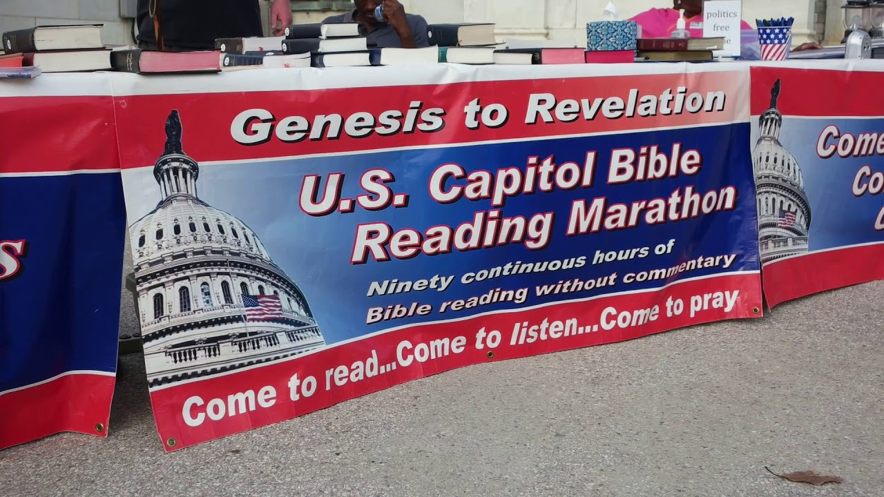 31st Annual U.S. Capitol Bible Reading Marathon a Big Success on Capitol Hill