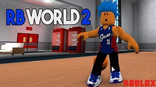 HOOPING IN ROBLOX RB WORLD 2 | HUGE ROBUX GIVEAWAY! | iBeMaine