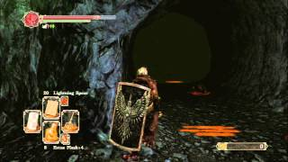 Dark Souls II - Black Gulch: Forgotten Key Location & Soul of a Giant Acquiired, Poison Arrow Giants
