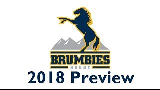 2018 Brumbies Super Rugby Preview