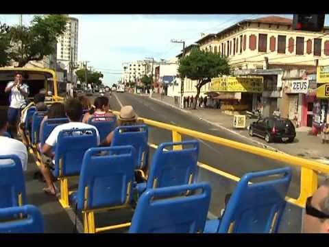 Ônibus panorâmico é novo sucesso do turismo em Natal/RN