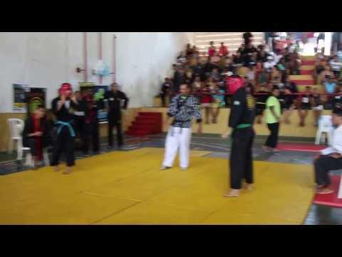 Luta De Thiago - Campeonato  Brasileiro De HAP KI DO 2013
