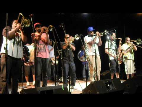 "Rebirth Brass Band ""All Blues (Miles Davis)"" 06-24-12 FTC Fairfield CT"