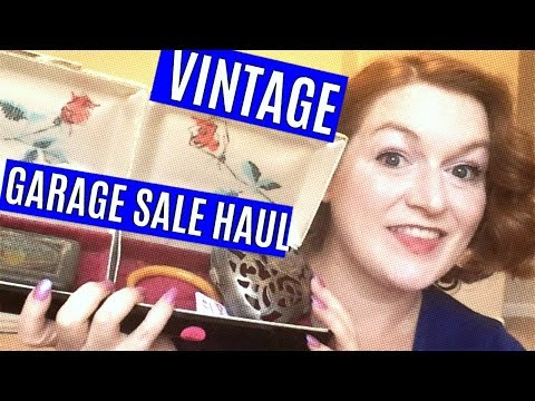 Vintage Garage Sale Haul 2018 – ATX Estate Sale Jewelry Haul