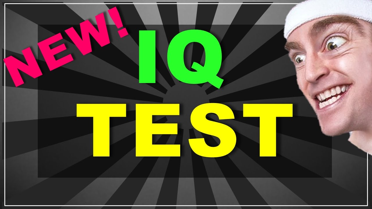 New IQ Test! (with answers)