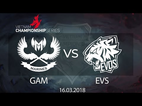 [16.03.2018] Highlight GAM vs EVS [VCS Xuân 2018]