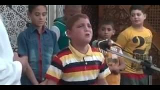 الطفل المعجزة فى مدح الرسول محمد صلى الله عليه وسلم