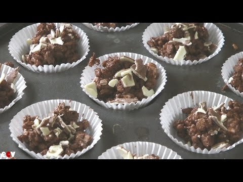 Easy Chocolate & Marshmallow Rice Krispie Treats Recipe