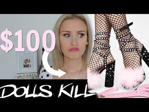A VERY GLAM DOLLSKILL HIGH HEEL HAUL - Is It Worth The Money?? #Dollskill