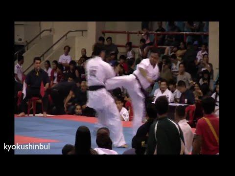 China vs Philippines - Longest Kyokushin Match All Asia