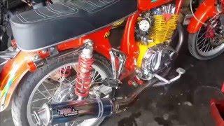 Tehnik Setting Karburator Motor Honda CB Galak Agar Lari Kencang | Modifikasi CB