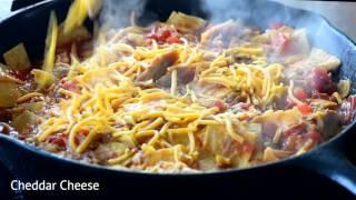 Pulled Pork Enchilada Skillet