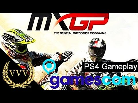 MXGP - PS4 - Gamescom 2014