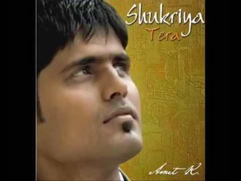 Shukriya Tera | Brother Amit Kamble | Hindi Worship Hymn | Piano Cover | Karaoke
