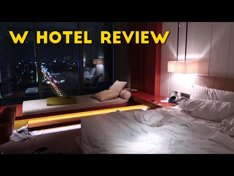 W Hotel Taipei, How I Spent the Sapphire Reserve Bonus! (Review)