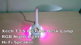 Xech T3s Flexible Desk Lamp with Wireless Speaker