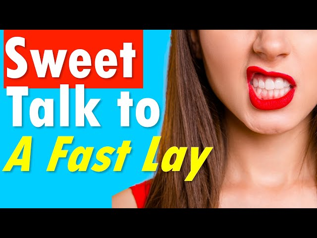 How to Sweet Talk a Female Friend for a Fast Lay