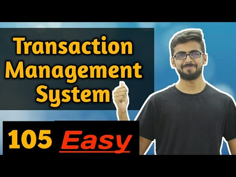 Transaction management in dbms | Transaction in dbms for gate | Transaction management in dbms gate