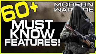 60+ Things you Must Know About Modern Warfare! (Multiplayer Gameplay)