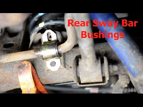 Rear Sway Bar Bushing Replacement - YouTubeYouTube