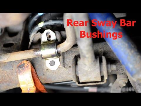 Rear Sway Bar Bushing Replacement