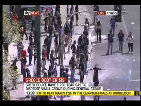 Greece Economy In Turmoil- 28 June 2011
