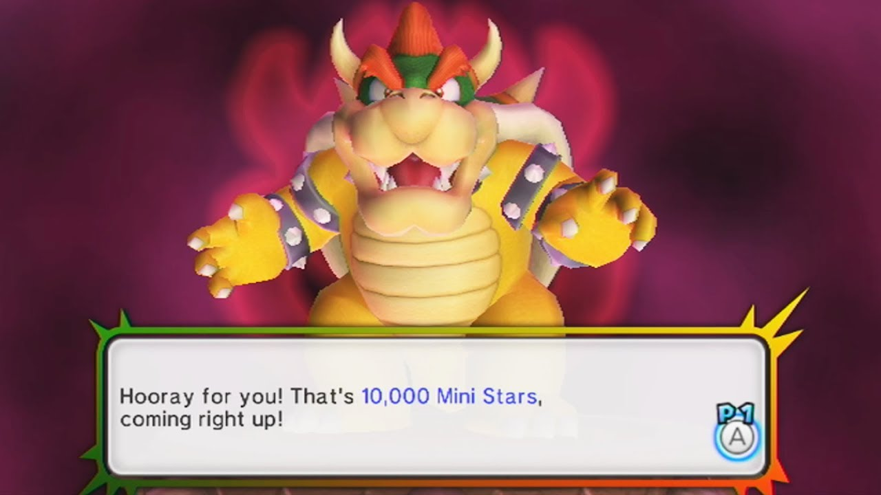 Mario Party 9 One Mini Star Slimkirby Reference By