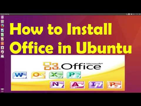 How To Install MS Office On Ubuntu 16.04