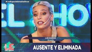 Los especialistas del show - Programa 11/12/18 - La eliminación de Sol Pérez