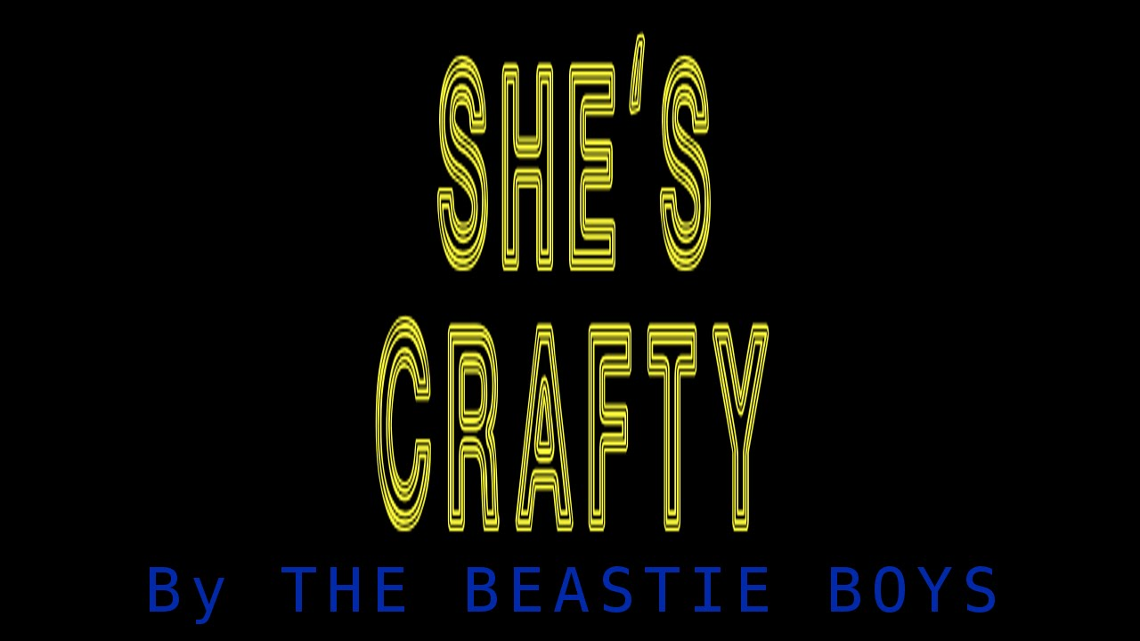 Emcee M D She S Crafty By The Beastie Boys
