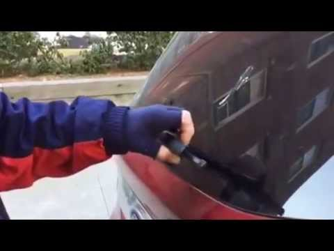 How To Replace Ford Escape Rear Wiper Youtube
