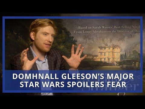 Domhnall Gleeson's Star Wars Spoilers Problem
