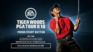 Daily Gameplay 1/17/16 - Tiger Woods PGA Tour 10 - Playstation 3