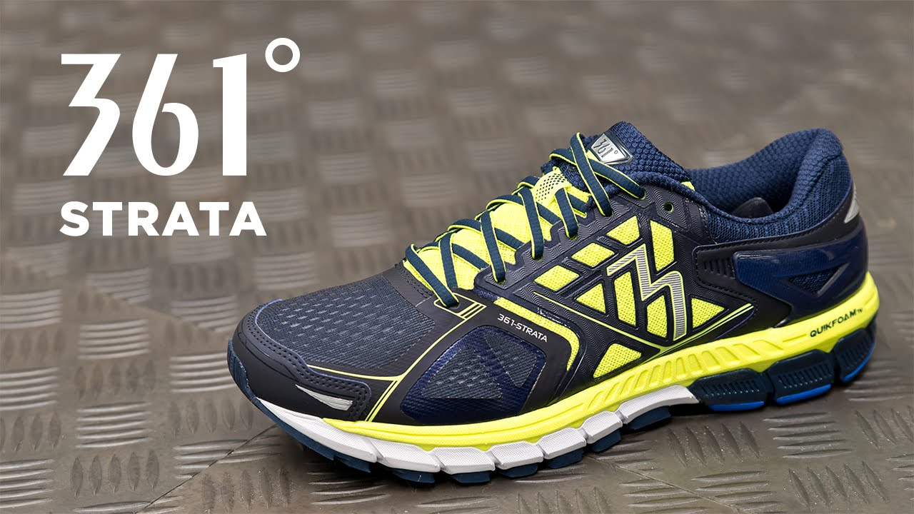 Running Shoe Overview: 361 Strata - YouTube