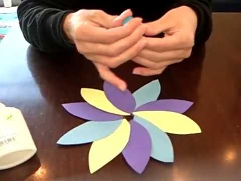 יצירת פרח מדיסק