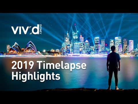 Vivid Light 2019 | Timelapse Highlights