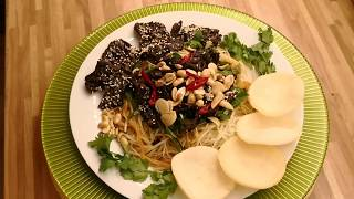 ✅ Gỏi Đu Đủ Khô Bò Chay | Dried Papaya Salad Is Vegetarian | Văn Phi Thông |