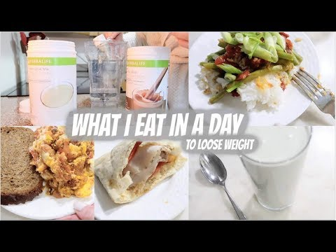 WHAT I EAT IN A DAY TO LOSE WEIGHT // HERBALIFE NUTRITION MEAL PLAN // WEEKEND EDITION