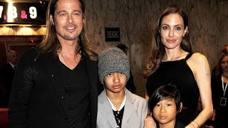 Няни рассказали , как Анджелина Джоли и Брэд Питт воспитывают детей