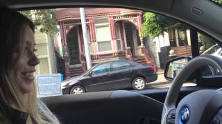 BMW i3 real test-drive in San Francisco